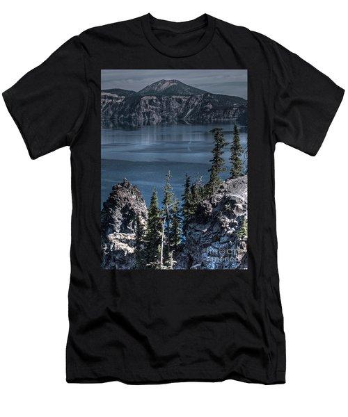 Crater Lake 4 Men's T-Shirt (Athletic Fit)