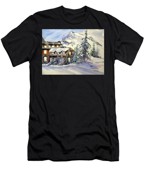 Crater Lake Lodge - Closed For Winter    Men's T-Shirt (Athletic Fit)