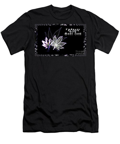 Crazy About Mary Jane Men's T-Shirt (Athletic Fit)