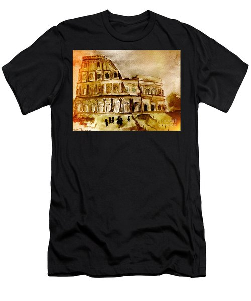 Crazy Colosseum Men's T-Shirt (Athletic Fit)