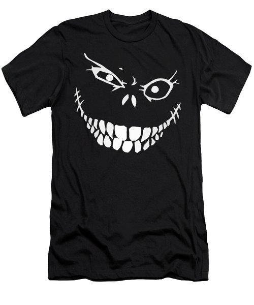 Crazy Monster Grin Men's T-Shirt (Athletic Fit)