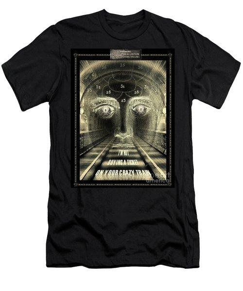 Crazy Train Men's T-Shirt (Athletic Fit)