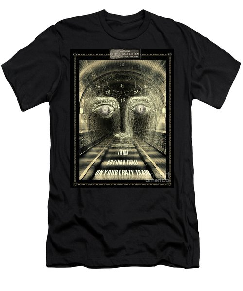 Crazy Train Men's T-Shirt (Athletic Fit)