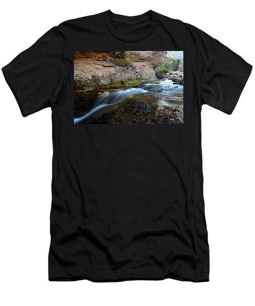Crazy Woman Creek Men's T-Shirt (Athletic Fit)