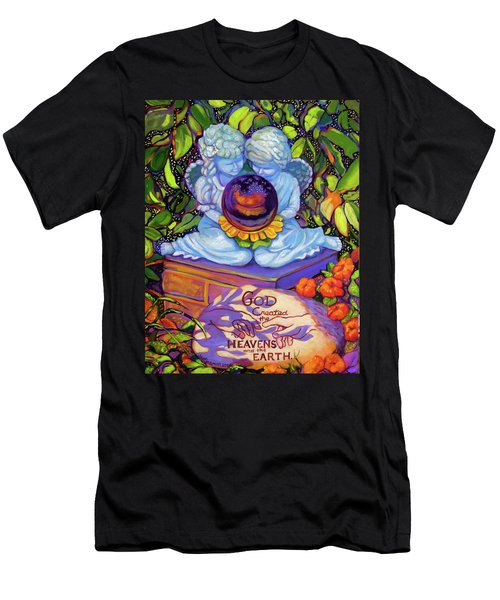 Garden Wisdom 1-creation Men's T-Shirt (Athletic Fit)