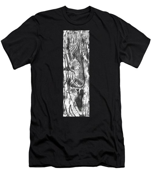 Men's T-Shirt (Slim Fit) featuring the painting Creator by Carol Rashawnna Williams