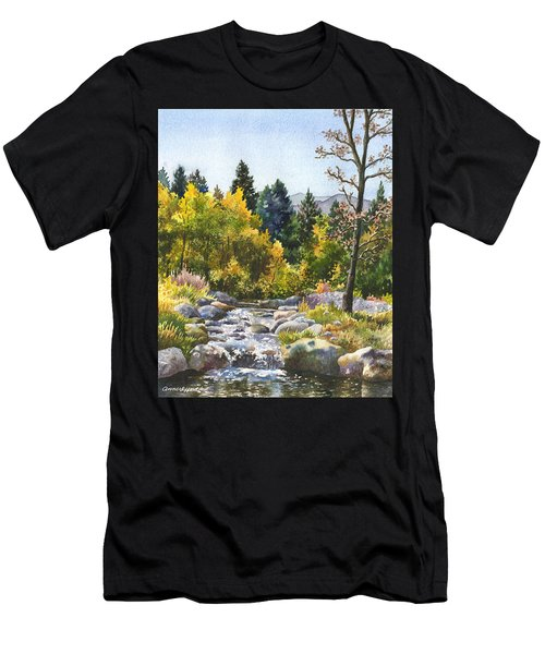 Creek At Caribou Ranch Men's T-Shirt (Athletic Fit)