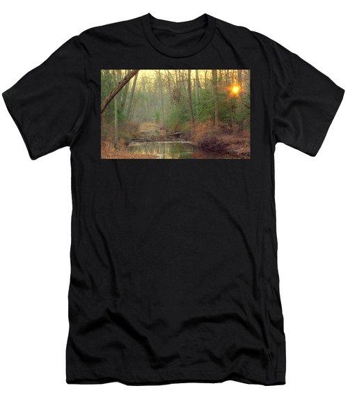 Creek Bed Men's T-Shirt (Athletic Fit)