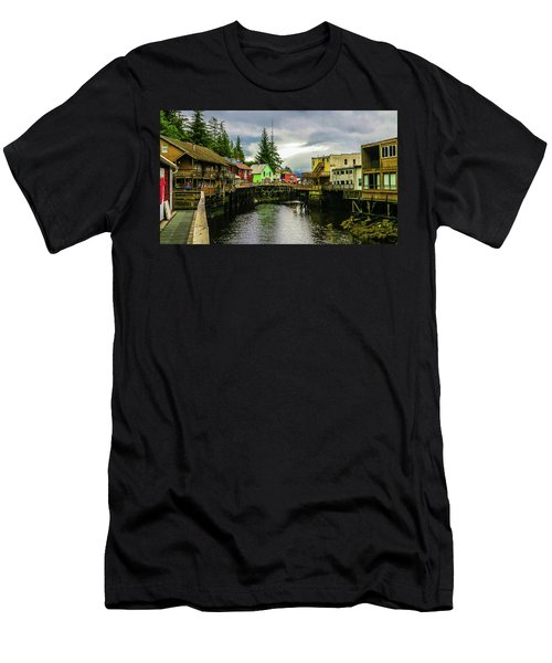 Creek Street 1 Men's T-Shirt (Athletic Fit)
