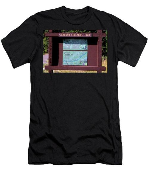Creekside Trail Men's T-Shirt (Athletic Fit)