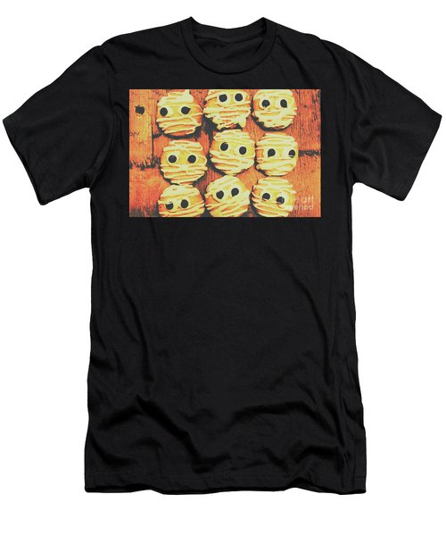 Creepy And Kooky Mummified Cookies  Men's T-Shirt (Athletic Fit)