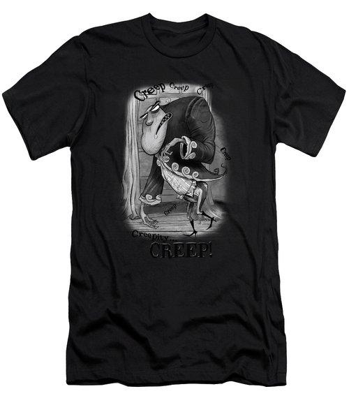 Creepy Men's T-Shirt (Athletic Fit)