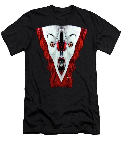 Creepy Clown 01215 Men's T-Shirt (Athletic Fit)