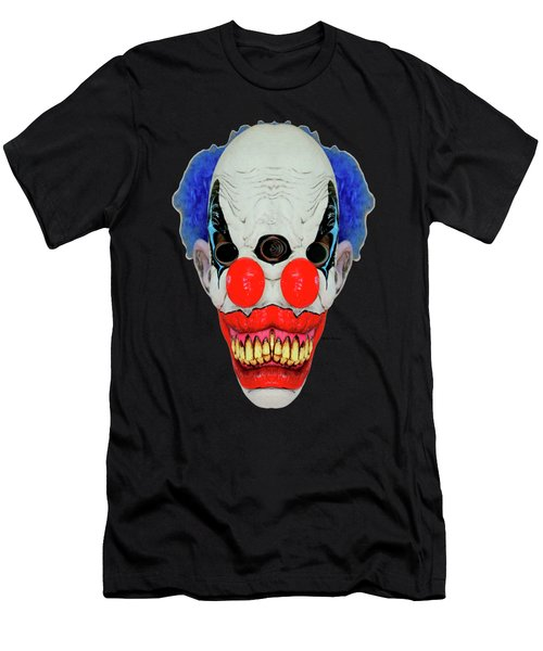 Creepy Clown Men's T-Shirt (Athletic Fit)