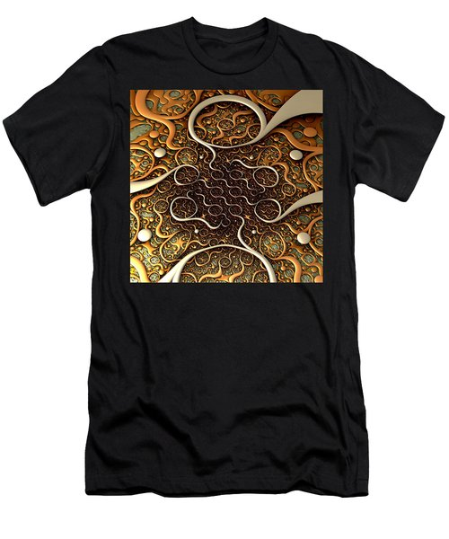 Men's T-Shirt (Slim Fit) featuring the digital art Creepy Crawlers by Lyle Hatch
