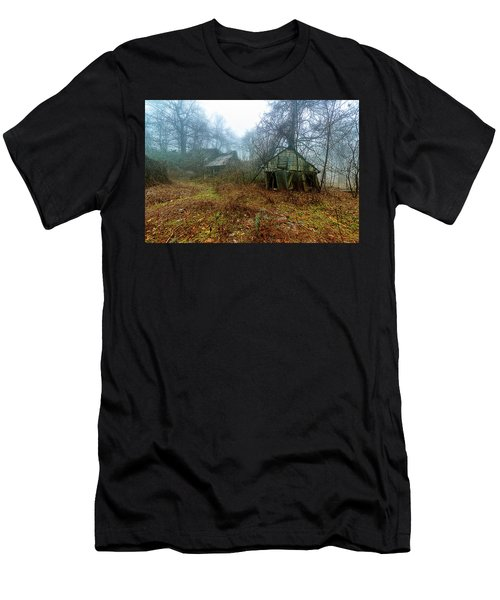 Creepy House Men's T-Shirt (Athletic Fit)
