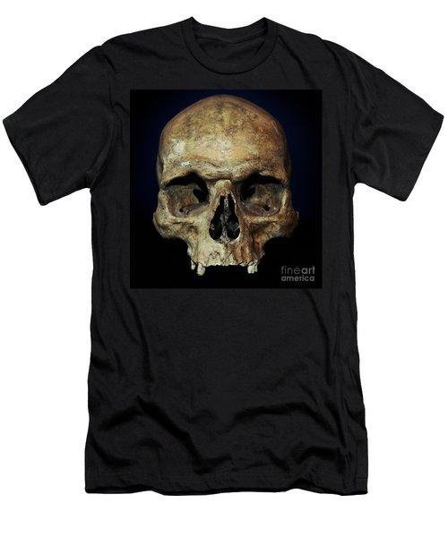 Creepy Skull Men's T-Shirt (Athletic Fit)