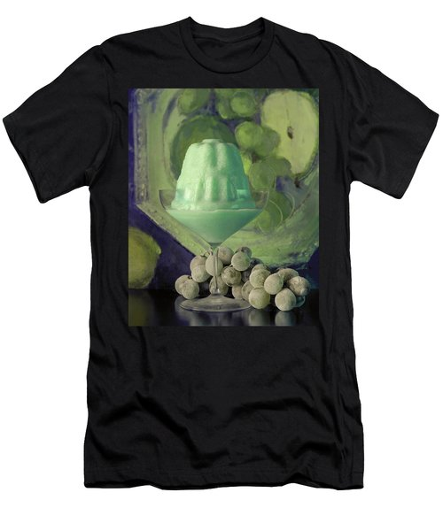 Creme De Menthe With Grapes Men's T-Shirt (Athletic Fit)