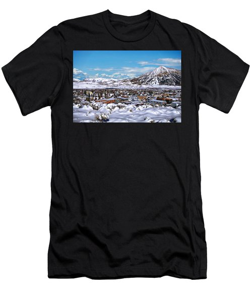 Crested Butte Panorama Men's T-Shirt (Athletic Fit)