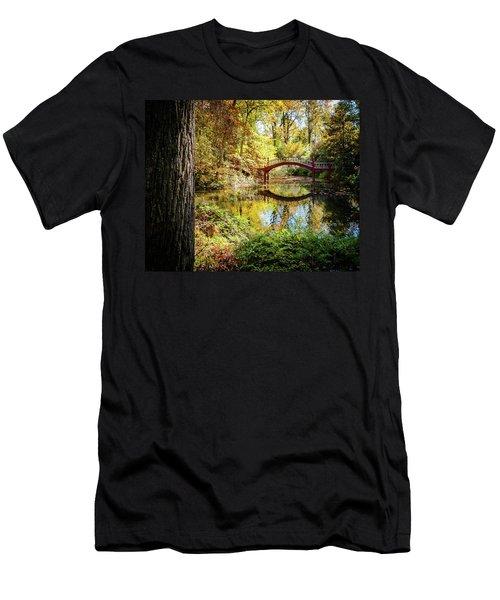 Crim Dell Bridge - Fall Men's T-Shirt (Athletic Fit)