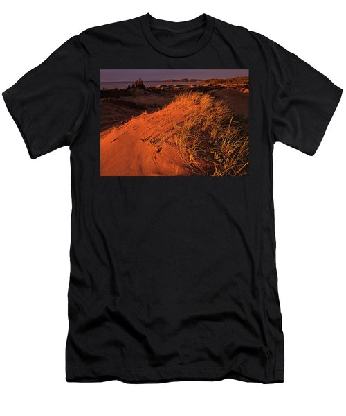 Crimson Dunes Men's T-Shirt (Athletic Fit)