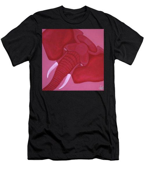Crimson Elephant Men's T-Shirt (Athletic Fit)