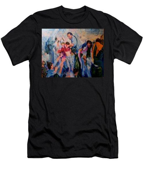 Crisis, What Crisis ? Men's T-Shirt (Athletic Fit)