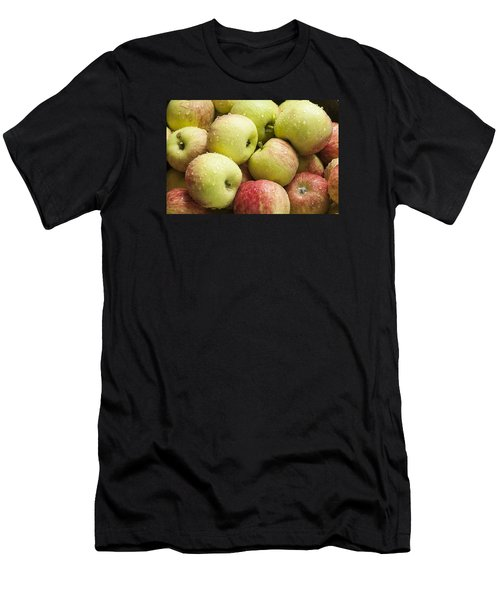 Crisp Wild Apples Men's T-Shirt (Athletic Fit)