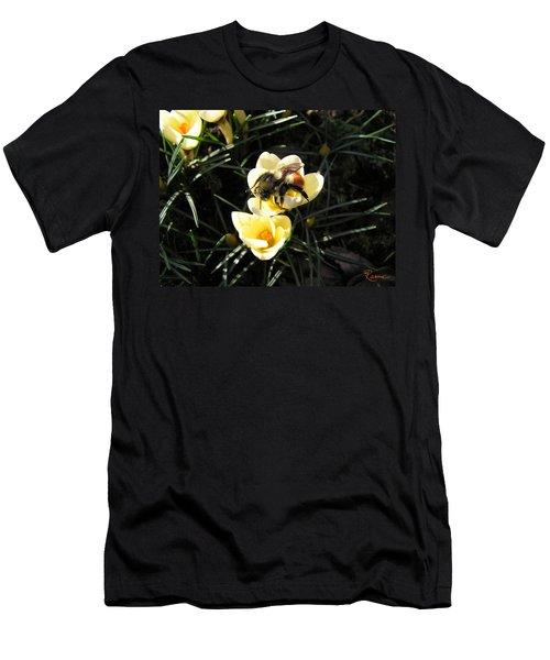 Crocus Gold Men's T-Shirt (Athletic Fit)