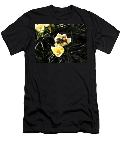 Crocus Gold Men's T-Shirt (Athletic Fit)