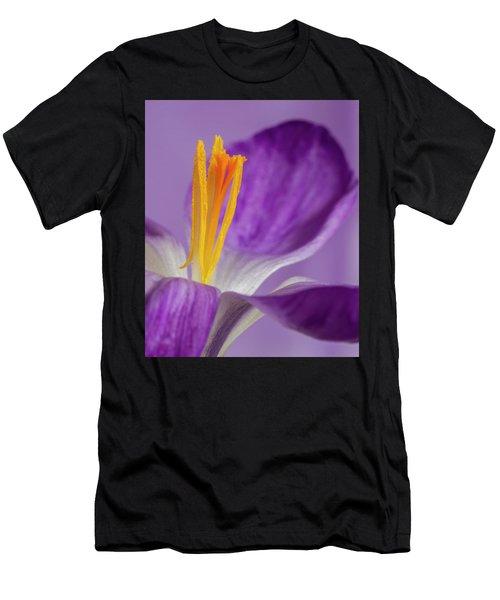 Crocus Stamens  Men's T-Shirt (Athletic Fit)