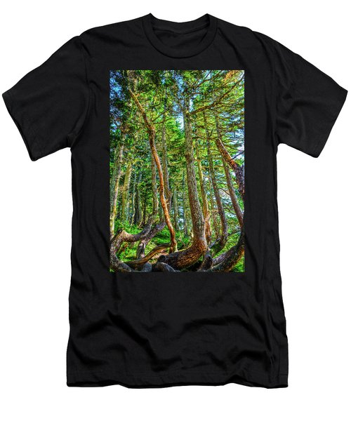 Crooked Trees Of Mt Roberts Men's T-Shirt (Athletic Fit)