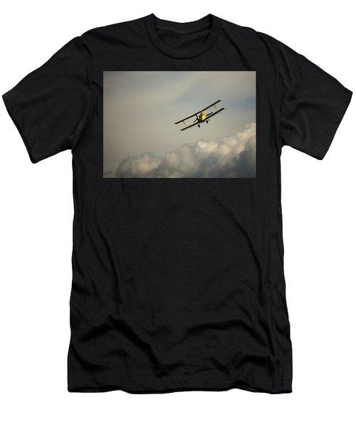 Crop Duster Men's T-Shirt (Athletic Fit)