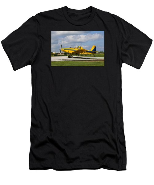 Crop Duster Men's T-Shirt (Athletic Fit)