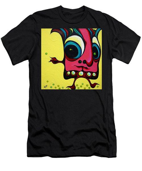 Crop Dustin Men's T-Shirt (Athletic Fit)