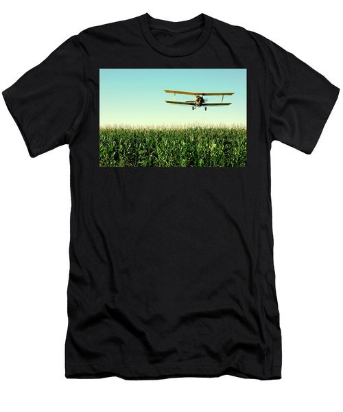 Crops Dusted Men's T-Shirt (Athletic Fit)