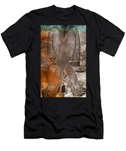 Cross Walk Men's T-Shirt (Athletic Fit)