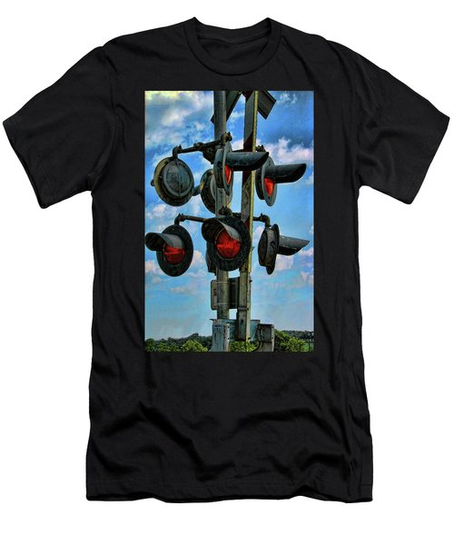 Crossed Signals Men's T-Shirt (Athletic Fit)