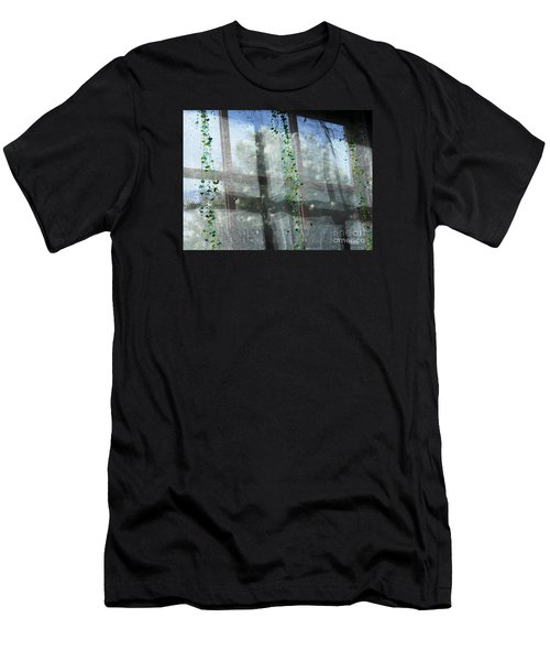 Crosses In The Window Men's T-Shirt (Athletic Fit)