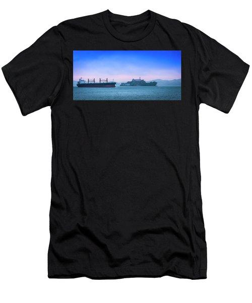 Crossing Alcatraz Men's T-Shirt (Athletic Fit)