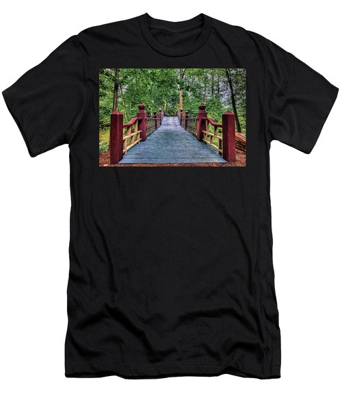 Crossing Crim Dell In Spring Men's T-Shirt (Athletic Fit)