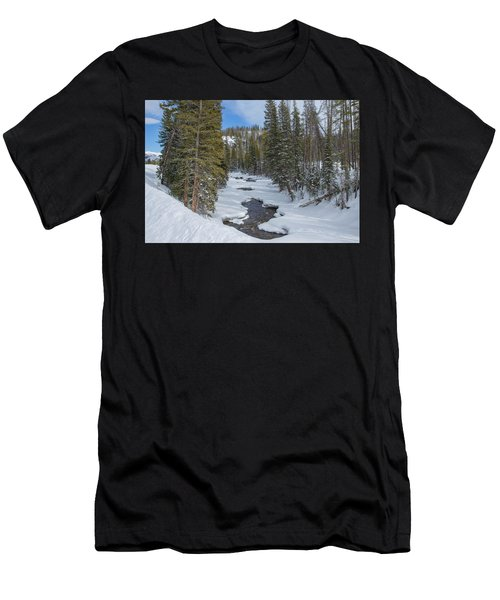 Crossing The Elk Men's T-Shirt (Athletic Fit)
