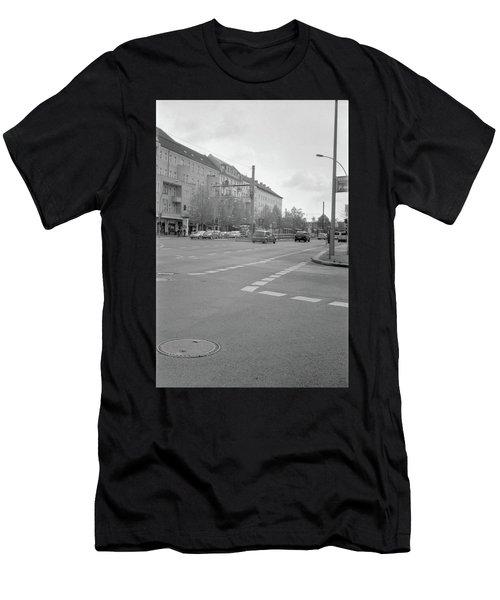 Crossroads In Prenzlauer Berg Men's T-Shirt (Athletic Fit)