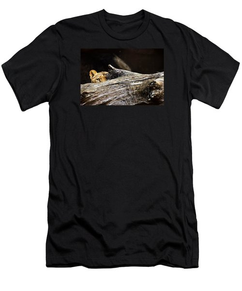 Crouching Tiger Men's T-Shirt (Athletic Fit)