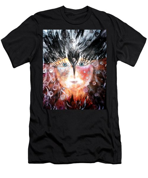 Crow Child Men's T-Shirt (Athletic Fit)