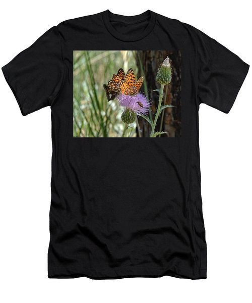 Crowded Thistle Men's T-Shirt (Athletic Fit)