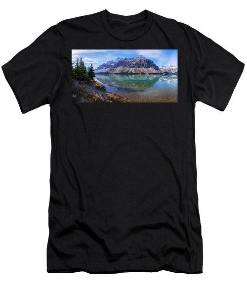 Crowfoot Reflection Men's T-Shirt (Athletic Fit)