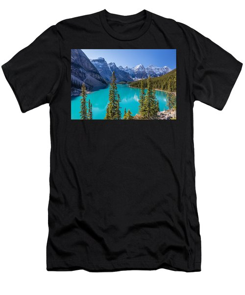 Crown Jewel Of The Canadian Rockies Men's T-Shirt (Athletic Fit)