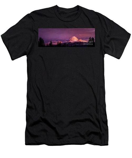 Crowsnest Sunrise Men's T-Shirt (Slim Fit) by Brad Allen Fine Art