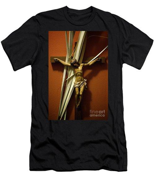 Crucifix Men's T-Shirt (Athletic Fit)